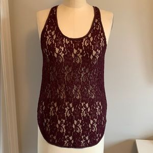Wilfred lace tank top